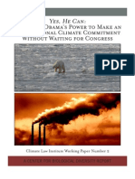 Obama Can Make a Climate Commitment Without Congress