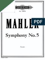 Mahler 5 symphony 1964