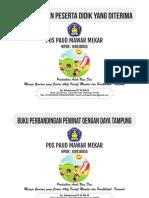 Cover Buku ADM Paud Mawar Mekar