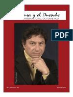 La Musa y El Duende - Revista Internacional de Flamenco Nº6. Ricardo de La Paz