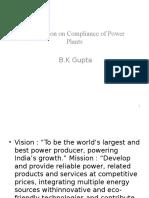 Presentation on Compliance Power Plants.2 Pptx