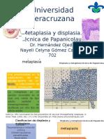 Metaplasia y displasia final.pptx