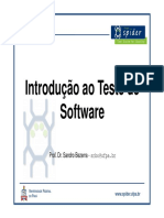 Intro TesteSoftware