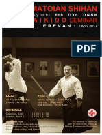 04/2017 Aikido Seminar Erevan