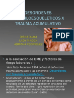 Desordenes Musculoesqueleticos y Trauma Acumulativo[1]