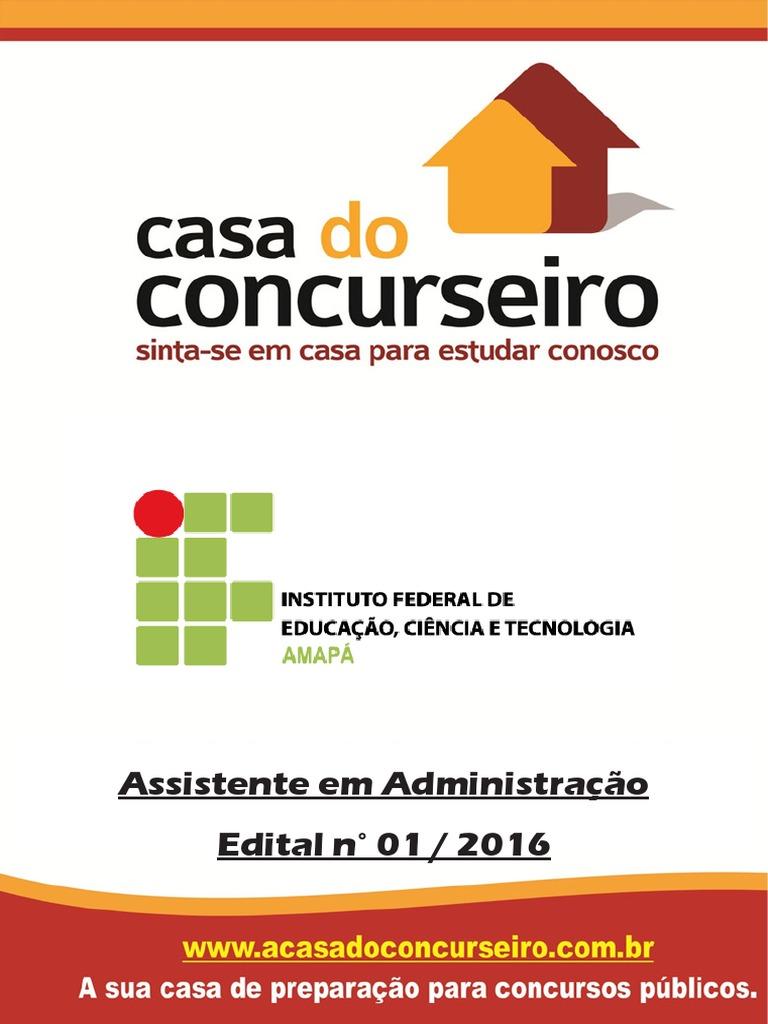 2aea1bebec4 apostila-if-ap-2016-assistente-em-administracao.pdf