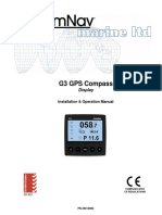 comnav G3 GPS Compass Display Manual V2.0