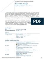 Currículo Do Sistema de ...Giovani Pinto Portugal)