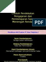 Pautan Dalam PowerPoint - Sains Menengah Rendah