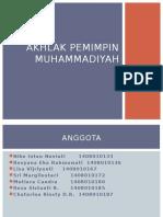 Akhlak pemimpin muhammadiyah