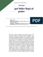 Ted Grant - Por Que Hitler Llego Al Poder