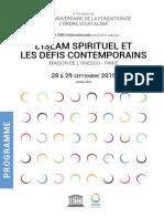 Programme FR