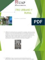 Catastro Urbano y Rural