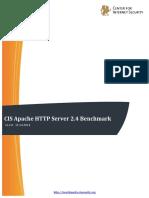 CIS Apache HTTP Server 2.4 Benchmark v1.2.0