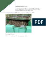 Pembuatan Kompos Daun Di SDN Kowel 3 Pamekasan