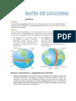 Síntesis Ciencias sociales grado 5° I periodo