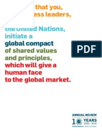 UN Global Compact June 2010 Annual Review
