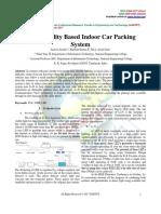 Light Fidelity Based Indoor Car Parking