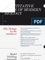 13-Quantitative Views of Modern Biology