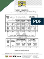 Otter Cl Wght Datasheet Oct06