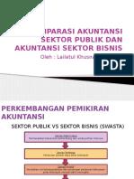 Komparasi Akuntansi Sektor Publik Dan Akuntansi Sektor Bisnis