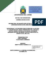 MODELO DE PORTADA DEL PLAN DE PASANTIA  (HERNAN LEYBA)