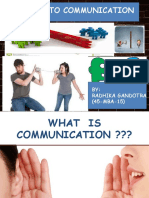 Barriers to Comm..