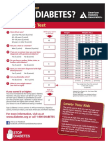 HNTR 1153 - Internet Diabetes Risk Test