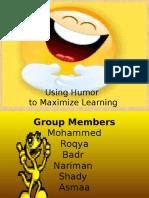 usinghumortomaximizelearning-120312053547-phpapp01