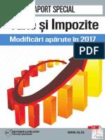 Taxe Si Impozite. Modificari Aparute in Februarie 2017
