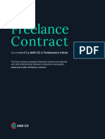 The Standard Freelance Contract - by AND CO & Freelancers Union