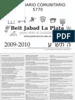 5770/2010 Calendario