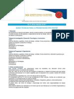Poster Bases Técnicas XXII CONIMERA2017