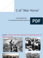 first ten lessons of war horse
