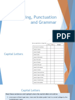 spelling punctuation and grammar