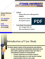 233963953-Case-Study-Presentation-Two-Tough-Calls-A-Harvard-Business-School.ppt