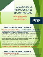 Analisis de La Remuneracion en El Sector Agrario