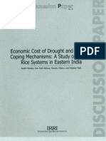 Economic Cost of Drought and Farmers Coping Mechanisms a Study of Rainfed