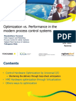1 OMC2015 ISA YOKOGAWA Optimization vs Performance