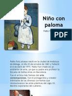 Niño Con Paloma