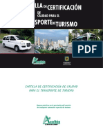 Car Till a Certifica c i on Transport e