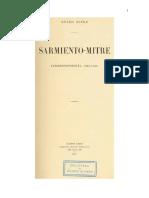 Sarmiento Mitre Correspondencia