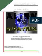 Alien Cicatrix Por Dr Corrado Malanga Edicion Enmaquetada y Profusamente Ilustrada Corregida