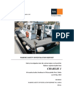 MV Charlie 1_Final Safety Investigation Report