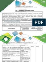 Guía de Actividades y Rubrica Fase 1 - Generalidades y Reconocimiento Del Curso