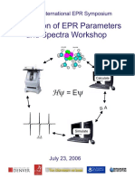 Calculation of EPR Parameters 2006
