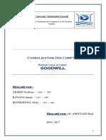 Rapport Goodwill