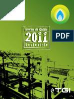 Informe de Gestión Sostenible 2011 TGI
