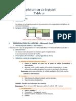Exploitation de logiciel MS excel.pdf