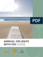 Annual Holidays With Pay Guide